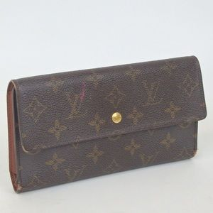 VUITTON porte-tresor international purse FIRM